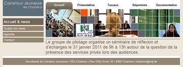 Carrefour Jeunesse de Charleroi: une action communautaire sur la circulation de l'information